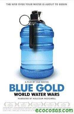 OroAzulLaGuerraDelAgua Poster Oro azul La guerra del agua (Documental)