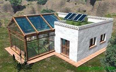 Bioconstruir o como deber an ser nuestras casas ecocosas for Construccion de casas bioclimaticas
