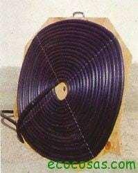 Calentador solar de agua portátil 1