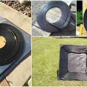 calentador solar de agua portatil
