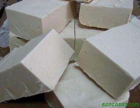 Jab n con aceite usado alta calidad ecocosas - Fabricar jabon casero ...