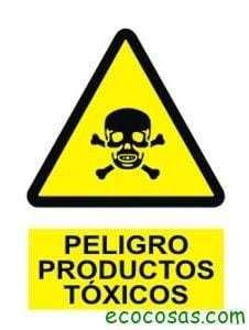 peligro productos toxicos Reflexionar, rechazar, reducir, reutilizar, reciclar, redistribuir y reclamar