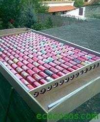 solarni panel 13s Calefactor solar gratis con latas de refresco o cerveza.