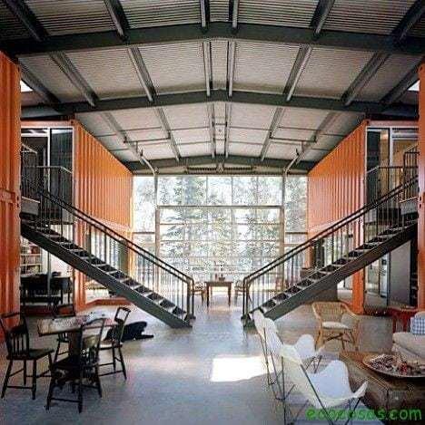 casa modular de contenedores en francia - Casas Con Contenedores