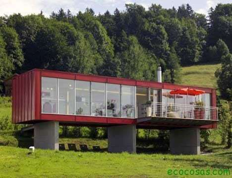 austria container houses with cheap and ecological containers
