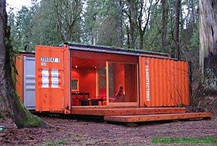 container cabin houses with cheap and ecological containers