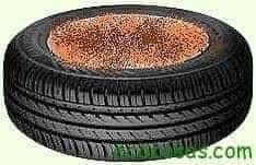 pneu0 Cultivar patatas en neumáticos