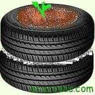 pneu2 Cultivar patatas en neumáticos