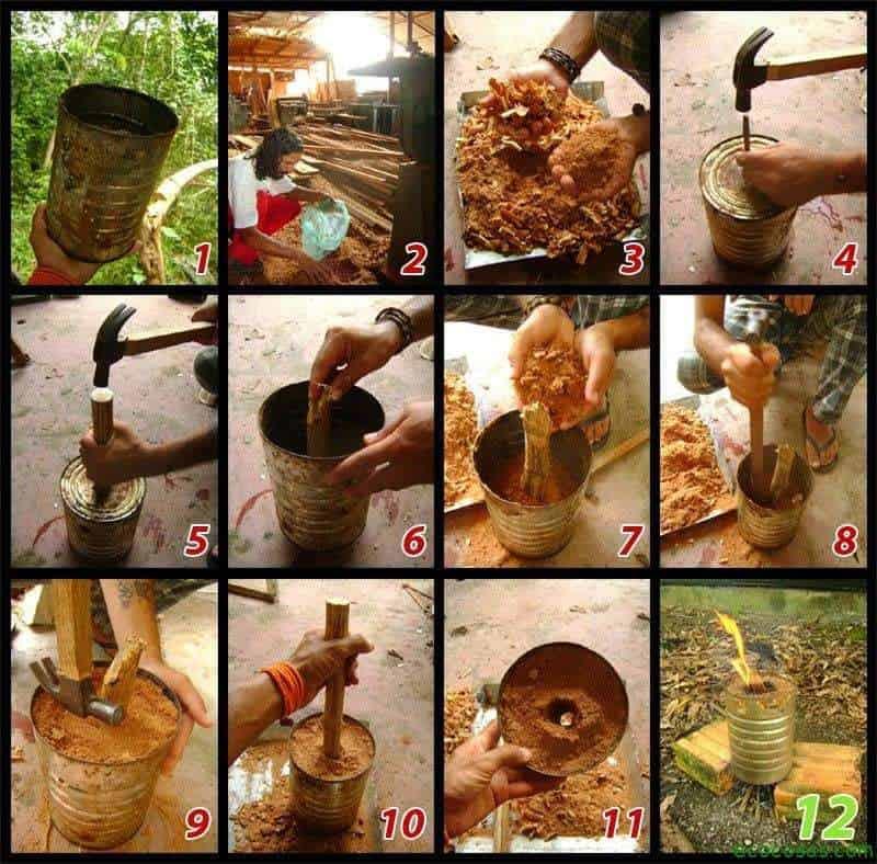 secuencia Cocinas de aserrín