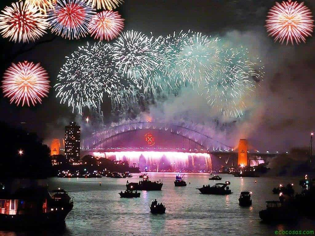Fin de año: la noche con mayor contaminación atmosférica del año 1