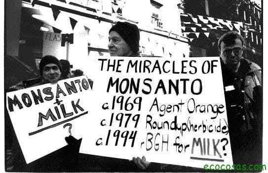 Monsanto leche