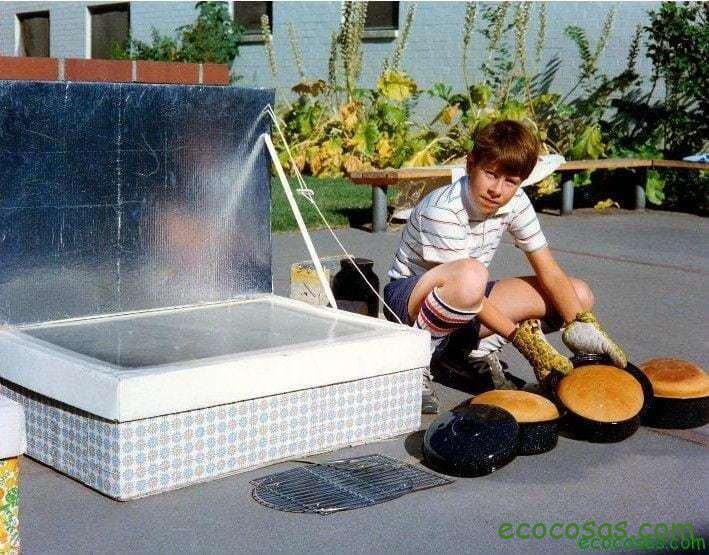 cocina solar casera