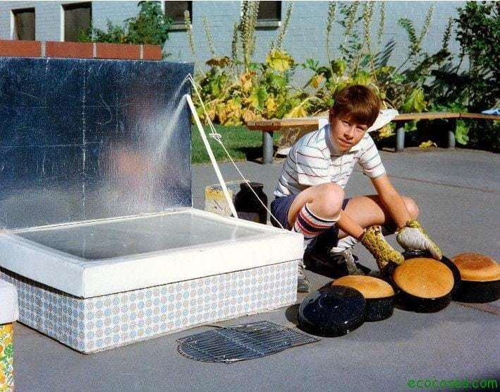 cocina solar de caja2 Cocinas solares, ecológicas y gratis