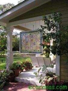 7 ideas creativas para reutilizar las ventanas viejas 4