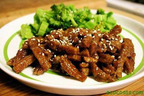 Seit n carne vegetal hecho en casa por 2 euros ecocosas for Como se cocina el seitan