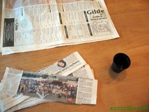 Semilleros de papel periódico 5