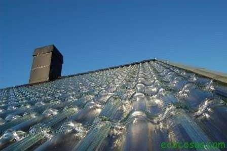Tejas de vidrio, calefacción solar con diseño innovador 1