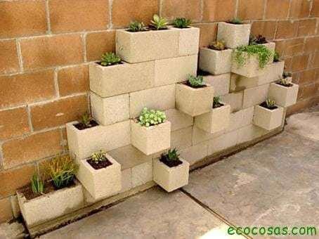 Reutilizar ladrillos y bloques de cemento 7