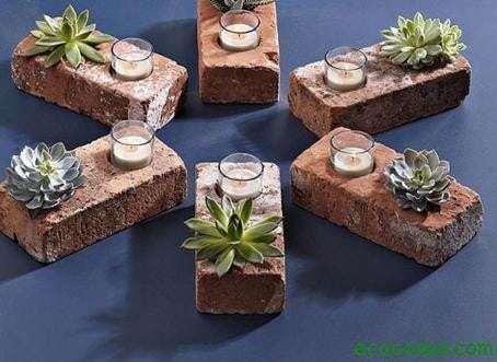 Reutilizar ladrillos y bloques de cemento 67