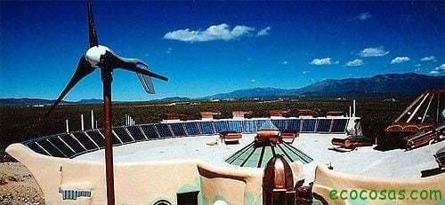 tejado energetico Earthship, una nave para nuestro paso por la tierra