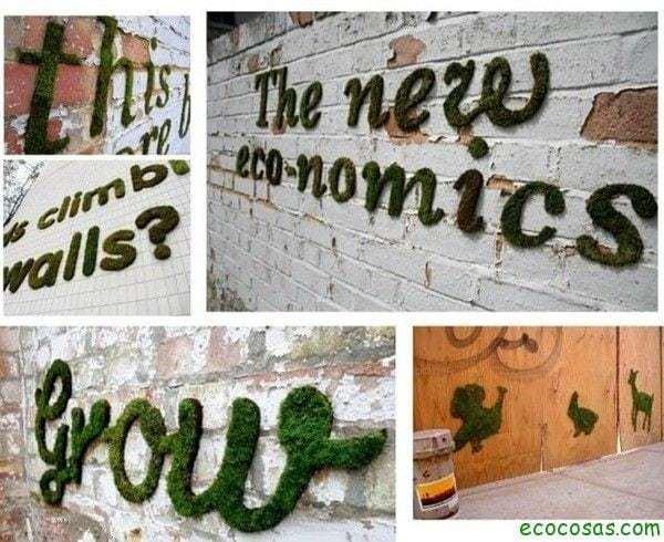 Haz tu propio graffiti de musgo 2