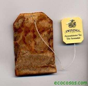 teabag used 5 formas de reutilizar las bolsas de té