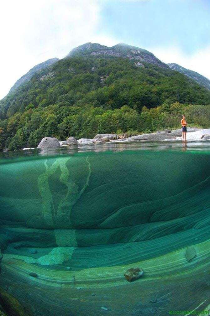 El río con el agua mas limpia del mundo 2