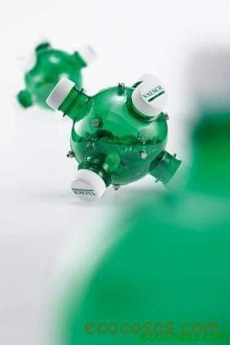 Ideas para reciclar botellas de plástico 1