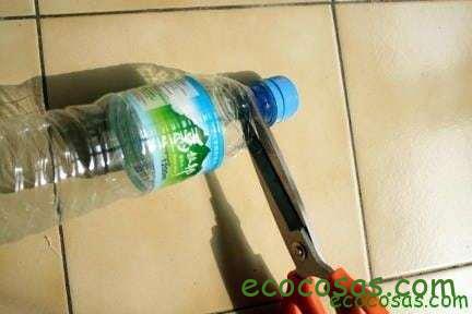 Ideas para reciclar botellas de plástico 2