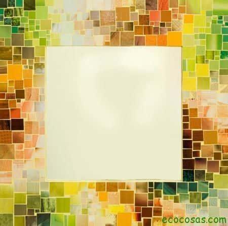 Ideas para realizar marcos y espejos ecocosas - Marcos redondos para cuadros ...