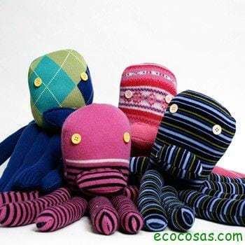 juguetes reciclados 1 Ideas para reciclar ropa