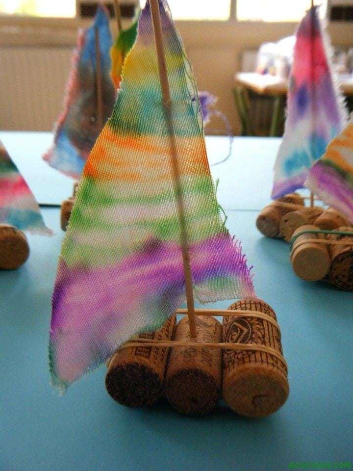 manualidades con material reciclado para niños