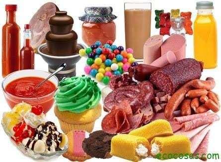 colorante conservantes Listado de Conservantes, Colorantes, Aditivos y Edulcorantes