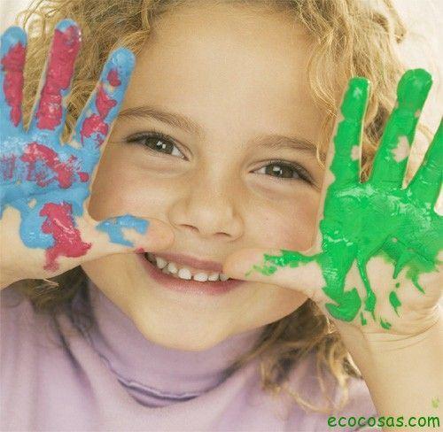 finger copiar Como hacer pintura y plasticina para niños