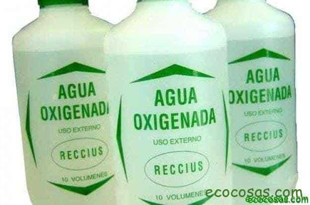 usos agua oxigenada