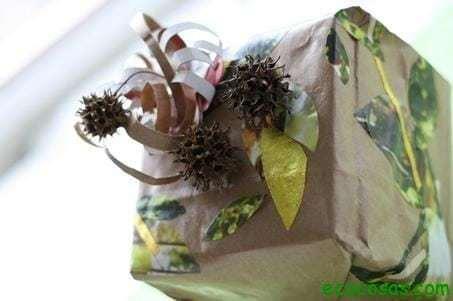 ideas regalo ecocosas 11 Ideas para envoltorios de regalo ecológicos
