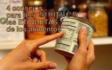 Consejos SIMPLES para leer las etiquetas de los alimentos 2