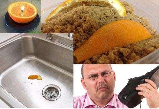 10 usos para la cáscara de naranja 1