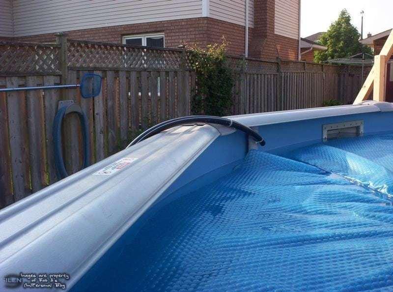 calentador de agua solar piscina