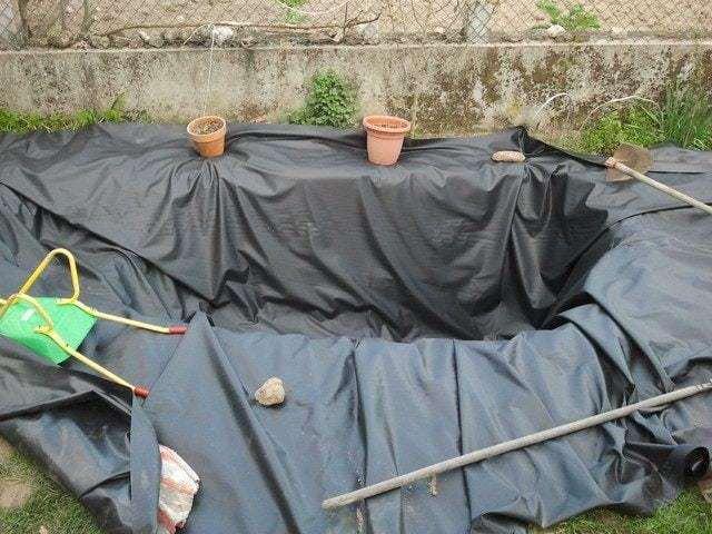 Como hacer un estanque facil y barato ecocosas - Construir un estanque ...