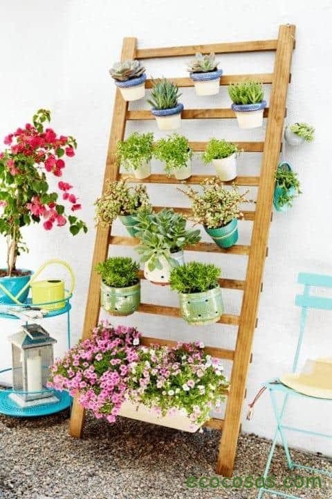 12 ideas para tu Jardín Vertical - Ecocosas
