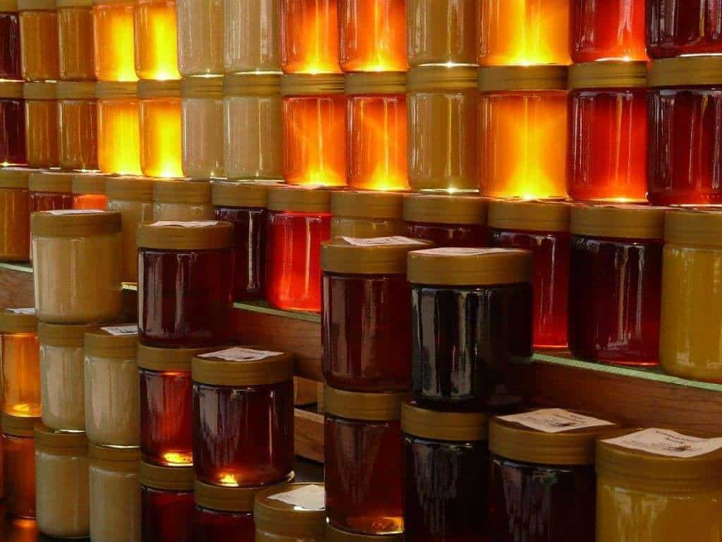 Much of the honey sold in supermarkets is False! one