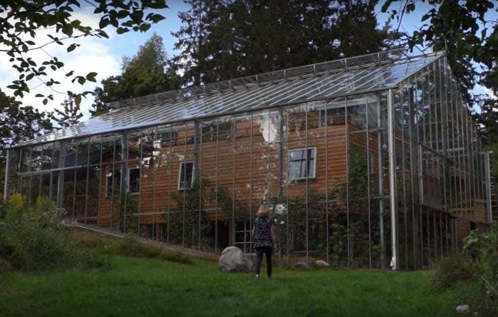 Familia sueca construye una fabulosa casa invernadero ecocosas - La casa sueca ...