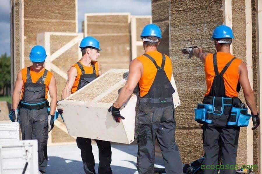 construccion con paja