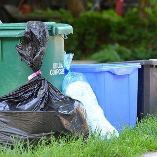 reducir basura en el hogar
