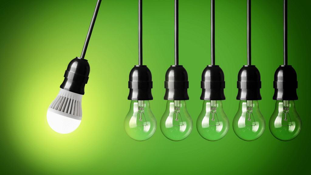 Resultado de imagen de economia sostenible bombillas