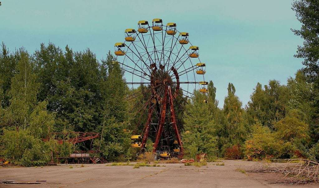Chernobyl de basurero nuclear a planta solar 1