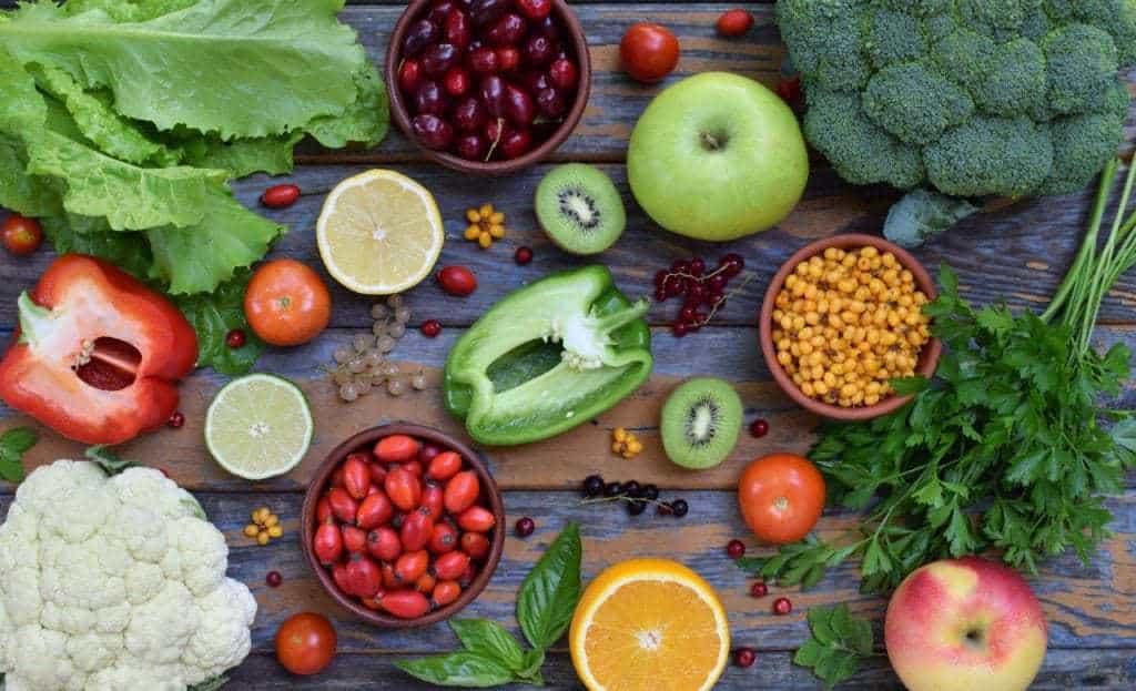Vitamina C - alimentos