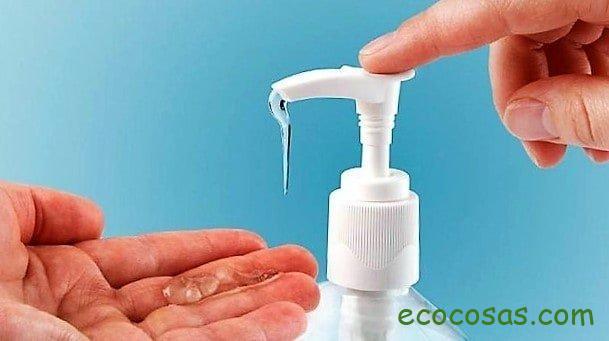 Gel desinfectante casero para manos