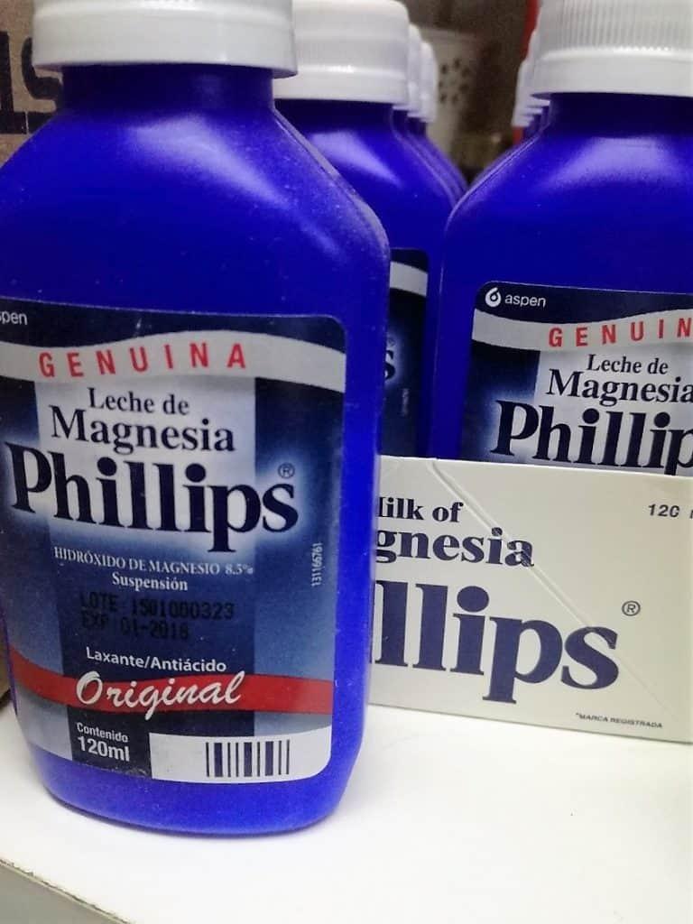 La leche de magnesia sirve para bajar de peso